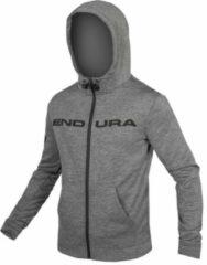 Endura - Hummvee Zip-Hoodie - Hoodie maat XL, grijs/zwart