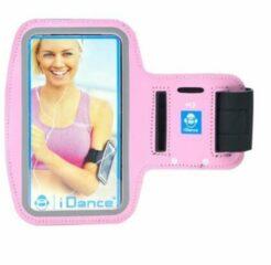 IDance I Dance Hardloop Armband - telefoonhouder - Roze - Universeel - Verstelbaar