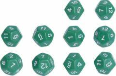 Groene Eduplay Rekendobbelstenen set van 10