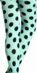 Groene Happy Socks Micro fiber Tights polkadot