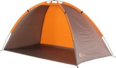 Portal Jota UV 40 Strandmuschel Strand-Zelt 200x100x100 cm Windschutz Sonnenschutz mit Bodenplane Packsack & Zubehör