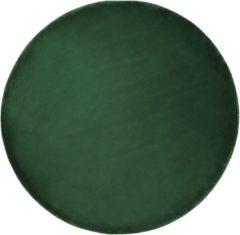 Groene Beliani Gesi Ii Vloerkleed Viscose 140 X 140 Cm
