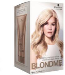 Schwarzkopf Professional Haarpflege Blondme All Blondes Duo Set All Blondes Bonding Shampoo 250 ml + All Blondes Bonding Mask 200 ml 1 Stk.