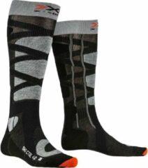 X-socks Skisokken Control Polyamide Zwart/grijs Mt 39-41