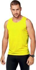 Proact Neon geel sport singlet voor heren XL (42/54)