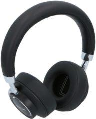 Zilveren Soundlogic Stereo koptelefoon - Voice-Assistant - Ondersteuning van Apple & Andriod - Wireless - Ingebouwde microfoon - Automatisch Opladen