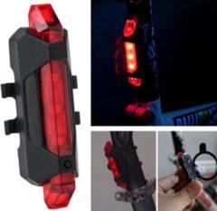 Rode Pro Brand's Led Fietslamp - Achterlicht - USB oplaadbaar