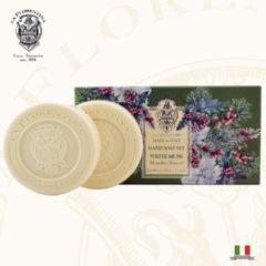 La Florentina Italiaans Home Made Handzeep White Musk - 2 x 115 gr