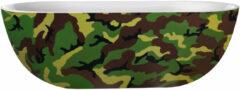 Donkergroene Vrijstaand Bad Best Design Camouflage 180x86x60 cm Acryl Leger Groen