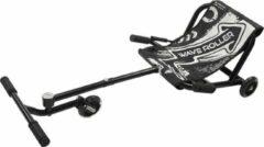 Zwart EzyRoller-Waveroller- Skelter- ezy roller- wave roller-ligfiets-kart-buitenspeelgoed