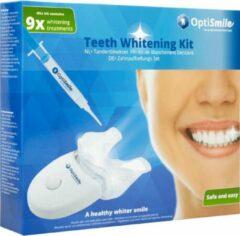 Blauwe Opti Smile Tanden Bleken - Tandenbleker set - Tandbleekset Premium - 3D LED - Zonder Peroxide - 3 Gelspuiten + GRATIS CADEAU 2 extra gelspuiten - Veilig - Thuis bleken - Witte Tanden - Professionele Teeth Whitening - Tandenbleek set