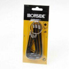 Ironside Inbussleutelset 186 1.5-6mm met ring 8-delig