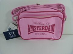 Sport / Schouder Tas The City Of Amsterdam By Robin Ruth - Roze