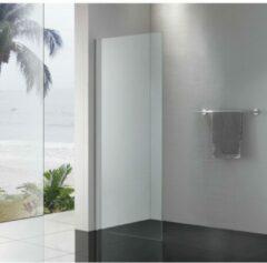 Royal Plaza Sway vaste zijwand 90x200cm chroom profiel helder glas met Clean coating 21764