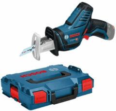 Bosch Blauw GSA 12V-14 Solo   accu zaag   zonder accu's en lader in L-boxx