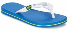 Donkerblauwe Ipanema Classic Brasil Kids Slippers - Kids - Blue/White