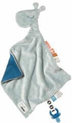 Done by Deer Baby Accessoires Comfort Blanket Raffi Blauw