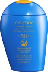 Shiseido Expert Sun Protector Face and Body Lotion SPF50+ zonnebrandlotion Lichaam 150 ml