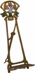 Trendybywave Schildersezel - Gietijzeren standaard - Art Nouveau - 42,5 cm hoog