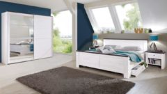Wimex Schlafzimmer-Sparset mit Schwebetürenschrank (5-tlg.)