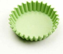 Point-Virgule Baking met Roger Van Damme - Taartvorm geribd - Ø 85mm - Groen