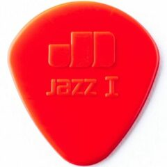 Dunlop Nylon Jazz I plectrum rood