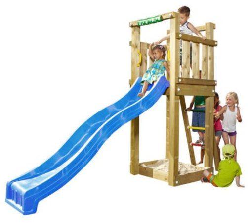 Afbeelding van Blauwe Jungle Gym Tower speeltoestel