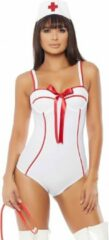 Witte Forplay (all)/Forplay - Costumes In Perfect Health Sexy Nurse Costume - Zwart