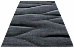 Ayyildiz Lucca Vloerkleed Grijs / Zwart Laagpolig - 200x290 CM