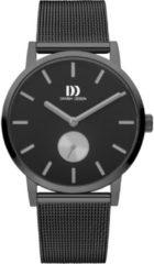 Danish Design IQ64Q1219 horloge heren - grijs - edelstaal PVD grijs