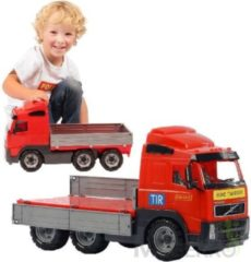 Polesie Volvo Vrachtwagen 45x19x25 cm Rood/Grijs