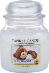 Yankee Candle - Soft Blanket Candle ( měkká deka ) - Vonná svíčka - 411.0g