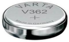 VARTA Knopfzellenbatterie Electronics V362 (SR58) Silber