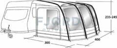 Outwell Mirage 400SA caravanvoortent
