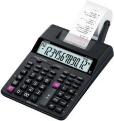 Bureaurekenmachine met printer Casio HR-150 RCE Zwart Aantal displayposities: 12 werkt op batterijen, werkt op het lichtnet (optioneel)