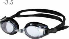 Lovetoswim.nl Zwembril op sterkte -3.5 (smoke)