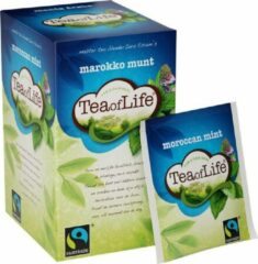 Tea of Life moroccan mint 4 * 20 zakjes