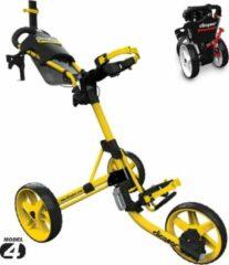Gele Clicgear 4.0 Golftrolley 2019 - Yellow