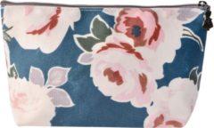 Toilettas   21*12 cm   Meerkleurig   Polyester   Rechthoekig   Bloemen   Melady   MLTT0079
