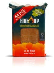 Fire-Up Aanmaakblok folie 84 stuks Fire Up