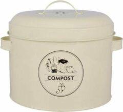 Esschert design Landelijke Keukenafval-compost emmer - 6,3 liter