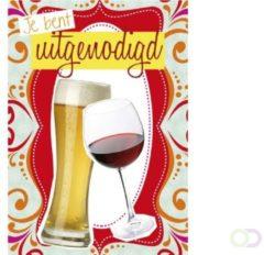 Office Uitnodiging bier en wijn