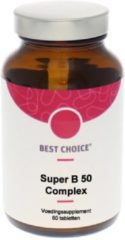 Best Choice Super B50 Complex (1 Pot van 60 stk)