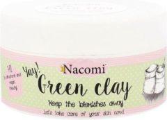 Nacomi - groen Clay zielona glinka nawilżająca 65g