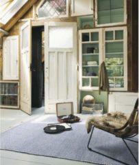 Brink & Campman Brink en Campman - Atelier Craft 49508 Vloerkleed - 140x200 cm - Rechthoekig - Laagpolig Tapijt - Retro, Scandinavisch - Beige, Blauw