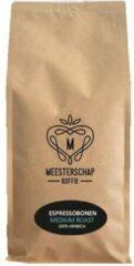 Meesterschap koffie Meesterschap | Espresso koffiebonen | Medium roast | Zak 8 x 1 kg