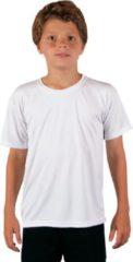 Vapor Apparel - UV-shirt met korte mouwen voor kinderen - wit - maat L