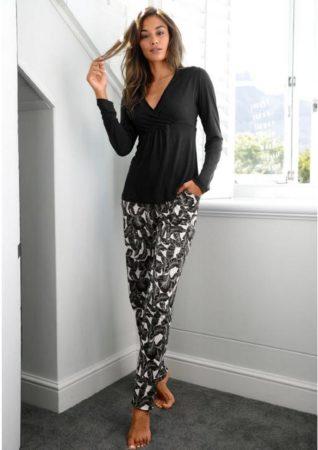 Afbeelding van Zwarte LASCANA pyjama