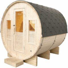 Maison Home Maison's Omega - Buitensauna - Stoom sauna - Barrelsauna - 6 persoons - 200x205x220cm