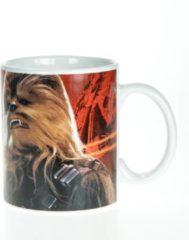 Zwarte Star Wars awakening Chewbacca 11OZ porcelain mug in gift box
